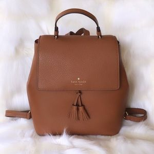 💃Kate Spade Hayes Medium Leather Backpack